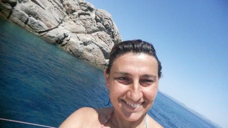 Foto di Giorgia Sicbaldi, istruttore apnea Cagliari Sardegna