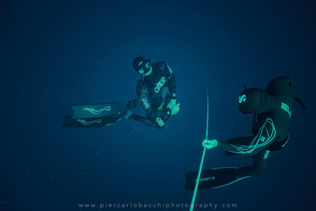 allenamento di apnea in mare Cagliari Sardegna