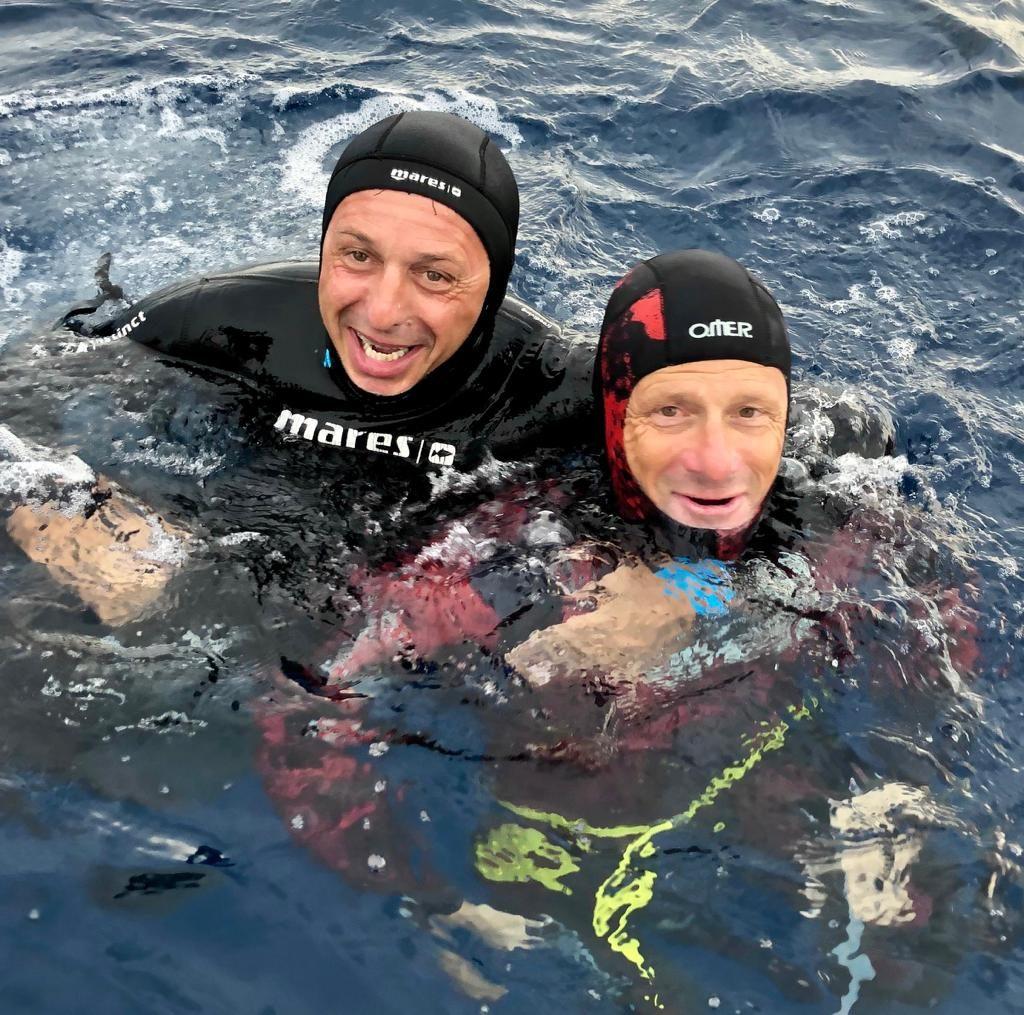 Allenamento apnea profonda Cagliari Sardegna