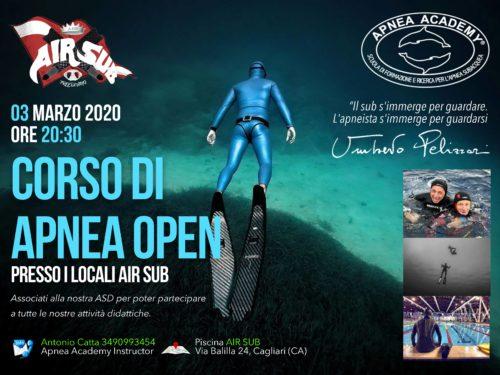 corso apnea Academy Cagliari Sardegna